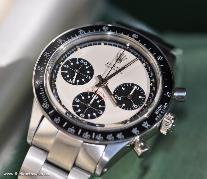 Paul Newman Dialed Pumper Pusher Cosmogrpah Rolex Daytona Watch For