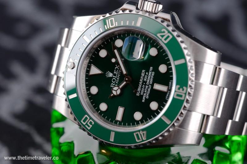 Brand New Unworn Green Bezel Submairner (the hulk)
